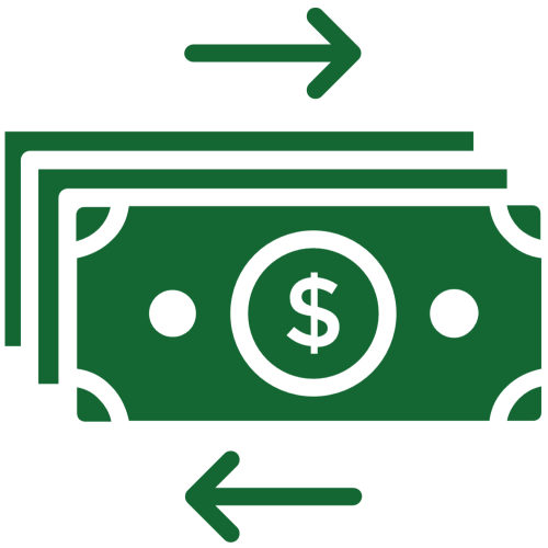 Accounting Icon - Cash Flow Analysis