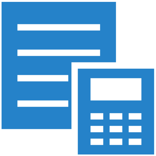 Accounting Icon - General Services